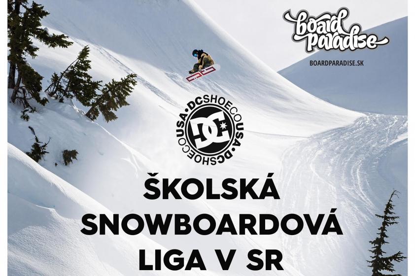 DC školská snowboardová liga 2019 v Jasnej