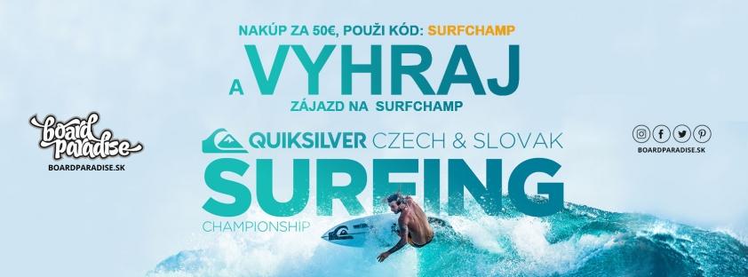 Ísť na SURF CHAMP 2019 môžeš aj ty!