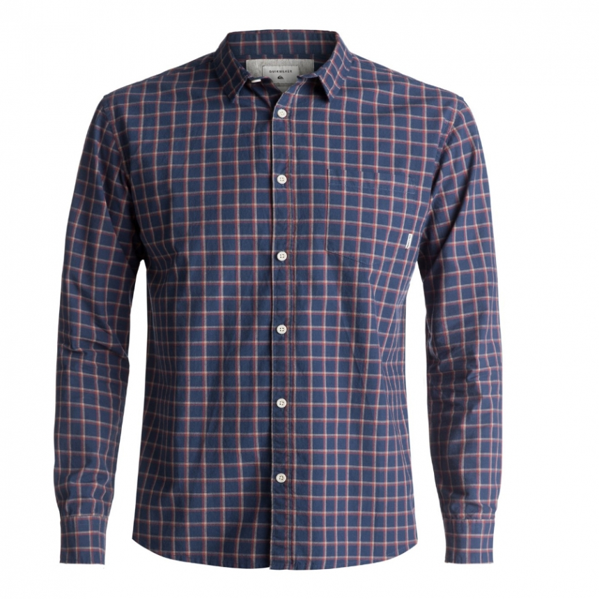 8df45fdc26 Košele - Quiksilver Everyday Check Ls - BoardParadise.sk