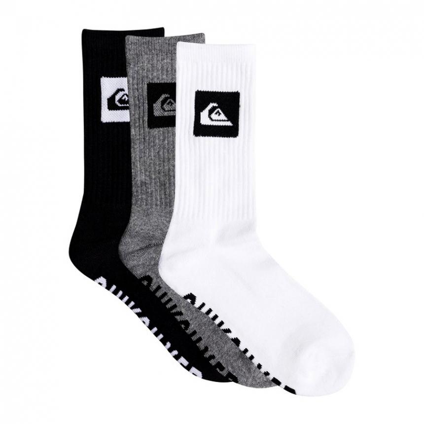 Ponožky Quiksilver 3 Pack Crew