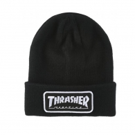 Čiapky THRASHER Logo Patch Beanie