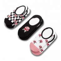 Ponožky Vans 3pk Rose Check