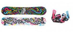Snowboard komplety Rossignol Myth Amptek + Temptation