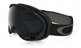 Snowboardové okuliare Oakley A-Frame 2.0 Matte Carbon