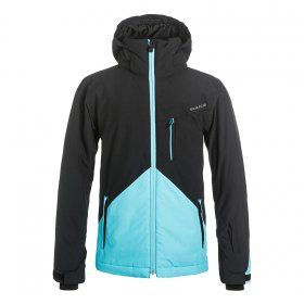 Zimné bundy Quiksilver Mission Colorblock