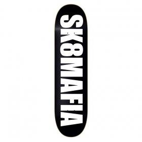 Skateboardové dosky Sk8mafia Og Logo Black 7,6 MC 6a Logo