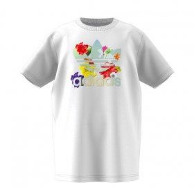 Tričká Adidas Floral Trefoil