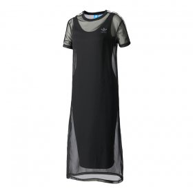 Šaty Adidas 3S Layer Dress