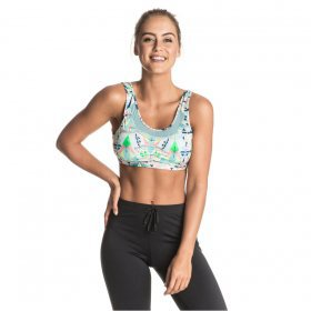 Fitness Roxy Lemonee Bra Printed 2