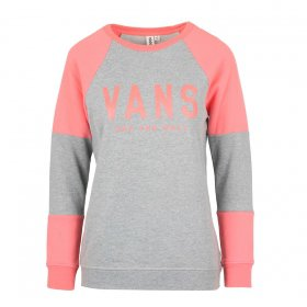 Mikiny Vans  Fortune Crew Grey Heather