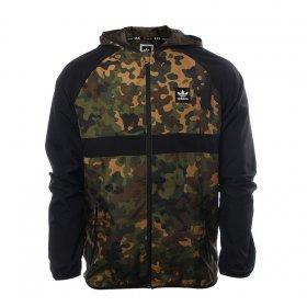 Prechodné bundy a vesty Adidas Wbreaker Aop