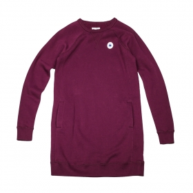 Šaty Converse Core Sweatshirt Dress