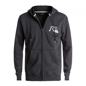 Mikiny Quiksilver Never Say Dye Zip Thru