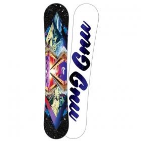 Snowboardové dosky GNU Asym Velvet Gnuru C2E