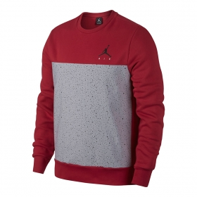 Mikiny Jordan Flight Fleece Cement