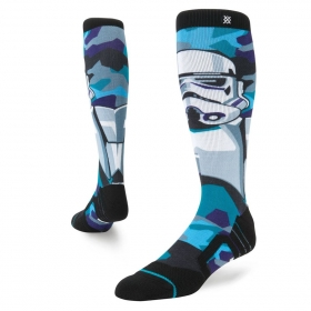 Ponožky Stance  Storm Trooper Snow Turquoise