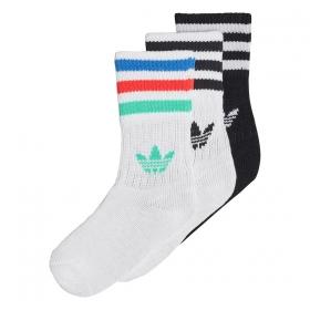 Ponožky Adidas Crew Sock Kids 3P