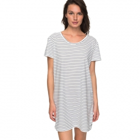 Šaty Roxy Just Simple Tee Dress Stripe