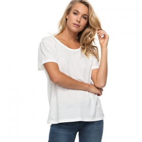 Tričká Roxy Just Simple Tee Solid