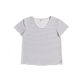 Tričká Roxy Just Simple Tee Stripe