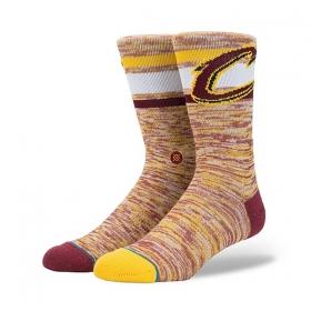 Ponožky Stance Cavs Melange Burgundy