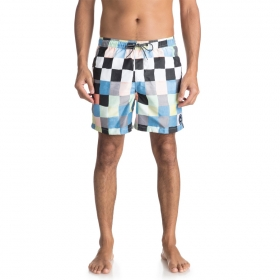 Boardshorty Quiksilver Resin Check Volley 15