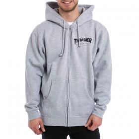 Mikiny THRASHER Logo Zip Hood