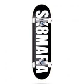 Skateboardové komplety Sk8mafia Og Logo Black 7.75