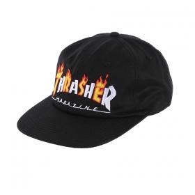 Šiltovky THRASHER Flame Mag Snapback