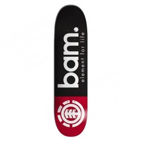 Skateboardové dosky Element Bam Blkred