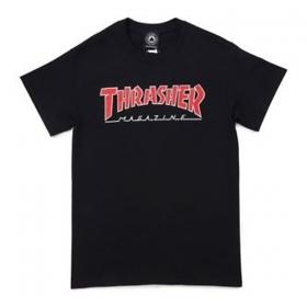 Tričká Thrasher Outlined