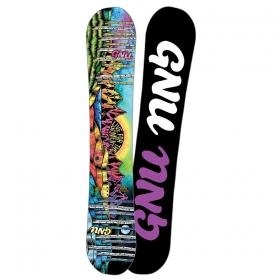 Snowboardové dosky GNU Asym Ladies Choice C2X