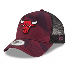 Šiltovky New Era New Era 9FO Aframe Camo Color Trucker NBA Chicago Bulls