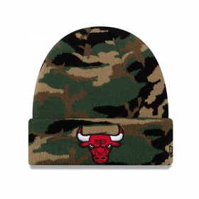 Čiapky New Era New Era Essential Camo Knit NBA Chicago Bulls