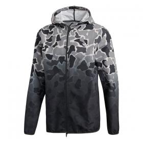 Prechodné bundy a vesty Adidas Camo