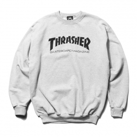 Mikiny Thrasher Skate Mag Crew
