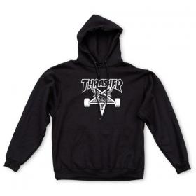 Mikiny Thrasher Skate Goat Hood