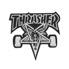 Ostatné Thrasher Skate Goat Patch