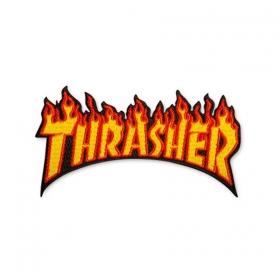 Ostatné Thrasher Flame Patch