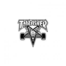 Ostatné Thrasher Thrasher Skate Goat Die Cut