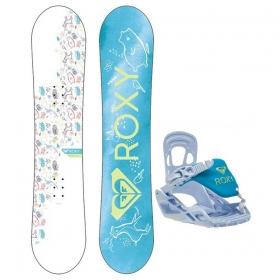 Snowboardové sety Roxy Poppy Package