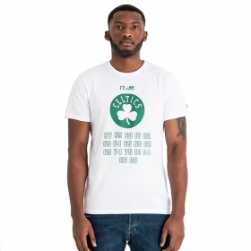 Tričká New Era NBA Team champion Boston Celtics