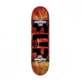 Skateboardové komplety FLIP Odyssey Peace Red 8.25
