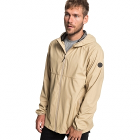 Prechodné bundy a vesty Quiksilver Kamakura Rains Hooded Raincoat