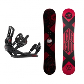 Snowboardové sety Rossignol Circuit Wide+Battle