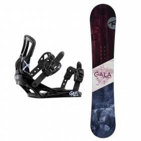 Snowboardové sety Rossignol Gala+Gala