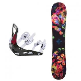 Snowboardové sety Rossignol Meraki+Voodoo