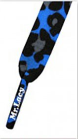 Šnúrky Mr.Lacy Royal Blue Leopard