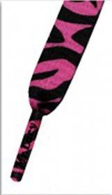 Šnúrky Mr.Lacy Neon Pink Zebra